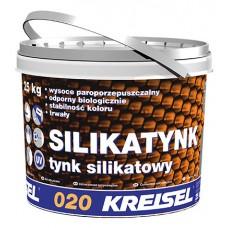 Силикатная декоративная штукатурка SILIKATYNK 020 Kreisel